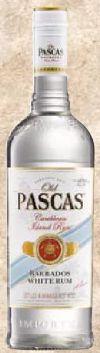 Rum von Old Pascas