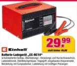 Batterie-Ladegerät CC-BC10 von Einhell