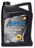Motoröl SAE 15W 40 von Alpine