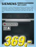 Einbau-Backofen HB214ABR0 von Siemens