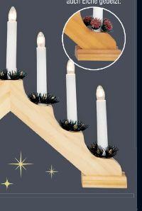 Weihnachts Holzleuchter von Konstsmide