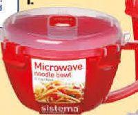 Mikrowellen-Nudelschale von Sistema