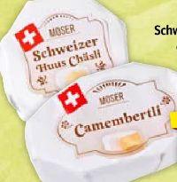 Schweizer Huus Chäsli von Moser Käse
