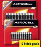 Alkaline Mignonzellen von Aerocell