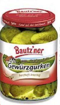 Gewürzgurken von Bautz'ner