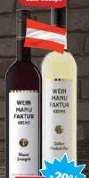 Rebsortenweine von Weinmanufaktur Krems