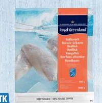 Rotbarsch-Filets von Royal Greenland