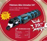 Präzisions-Akku-Schrauber 360° von Germania Qualitätswerkzeug