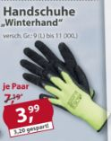 Handschuhe Winterhand