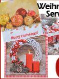 Weihnachts-Servietten