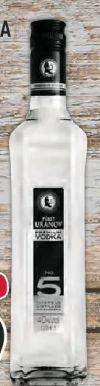 Premium Vodka No. 5 von Fürst Uranov