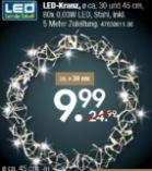 Weihnachts LED-Kranz