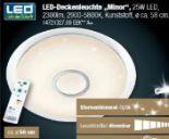 LED-Deckenleuchte Minor