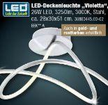 LED-Deckenleuchte Violetta