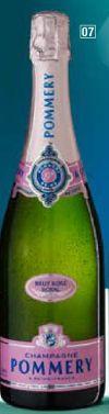 Brut Rosé Champagner von Pommery