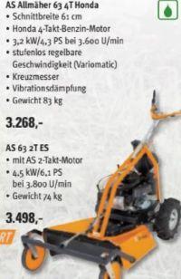 Allmäher AS 63 4T Honda von AS Motor