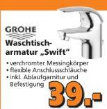 Waschtischarmatur Swift von Grohe
