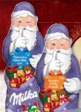 Weihnachtsmann Alpenmilch von Milka
