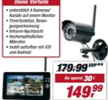 Easy-Security-Kamera-Set TX-28 von Technaxx