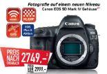 Systemkamera mit Vollformatsensor EOS 5D Mark IV Gehäuse von Canon