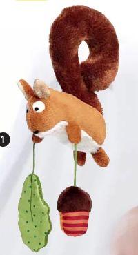 Anhänger für Babyschale Eichhörnchen von Sigikid