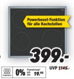 Autarkes Induktions-Kochfeld EH645BEB1E von Siemens