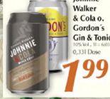 Red Label & Cola von Johnnie Walker