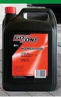 HD Motorenöl 15 W 40 von Go/On!