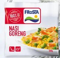 Internationale Fertiggerichte von Frosta