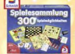 300er-Spielesammlung von Schmidt Spiele
