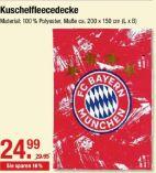 Kuschelfleecedecke von FC Bayern
