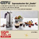 Espressokocher-Set Emolio von Gefu