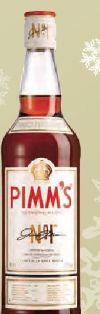 The Original No.1 Liqueur von Pimm's
