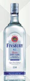 London Dry Gin Platinum von Finsbury