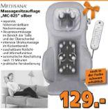 Massagesitzauflage MC-825 von Medisana