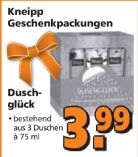 Geschenkpackung von Kneipp