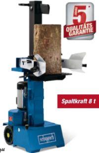 Holzspalter HL800 von Scheppach