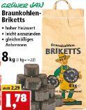 Braunkohlen-Briketts von Grüner Jan