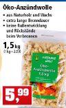 Öko-Anzündwolle von Grüner Jan