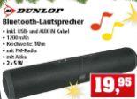 Bluetooth-Lautsprecher von Dunlop