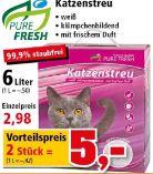 Katzenstreu von Pure Fresh