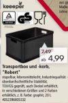 Transportbox/-korb Robert von Keeeper