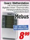 Quarz-Wetterstation von Mebus