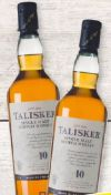 Single Malt Scotch Whisky von Talisker Skye