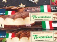Dessert-Spezialitäten von Edeka Italia