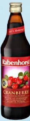 Cranberry Muttersaft von Rabenhorst