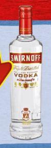 Vodka Red Label von Smirnoff