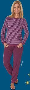 Damen-Frottee-Pyjama von Normann