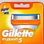 Fusion Systemklingen von Gillette