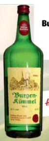 Burgenkümmel Likör von Schlitzer Destillerie